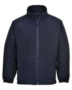 Aran Fleece Jacket, Dark Navy L