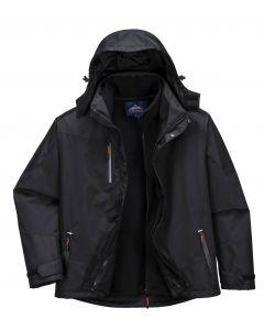 3 in 1 Radial Jacket Black Size XL
