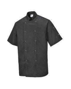 Cumbria Chef's Jacket Black Size 2XL