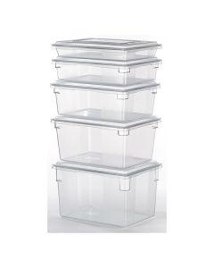 Food Box Clear 19Ltr 457x305x229mm