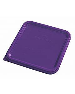 Colour Coded Square Lid Small Purple