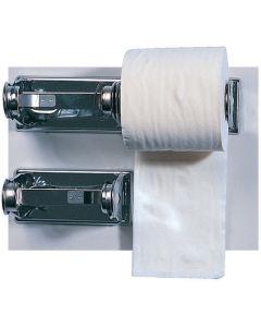 Double Toilet Roll Holder, Chrome