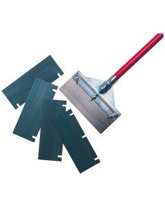 Floor Scraper blade, Vinyl/Wood