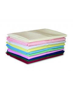 FR Polyester Base Valance, Single bed 200 x 90 x 38cm - Claret